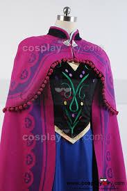 Anna Costume Frozen Princess Anna Costume With Cloak Cosplay Frozen