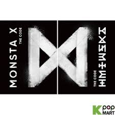 5 x 5 photo album monsta x mini album vol 5 the code random