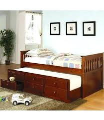 twin captains bed with bookcase headboard captains bed with trundle mailgapp me