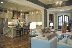 Open Concept Kitchen Floor Plans Love The Woodwork The Floor Color The Layout And The Light