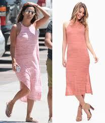 Celebrity Style Bargain Eva Longoria U0027s Splendid Midi Tank Dress