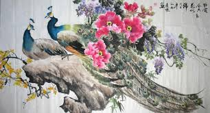 Flower And Bird - essence of flower and bird painting painting