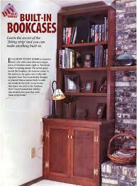 Plans Wood Bookcase by Built In Bookcase Plans U2022 Woodarchivist