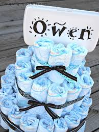 homemade baby shower gifts made out of diapers baby shower cakes