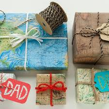 Map Wrapping Paper Eco Friendly Father U0027s Day Packaging That Dad Will Love Green