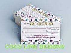 gift cards for business gift certificate sided standard business cards pack of 100