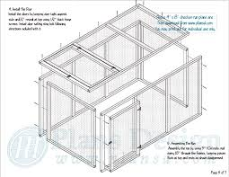 Backyard Blueprints Free Chicken Run Plans Step By Step And Very Detailed Completely