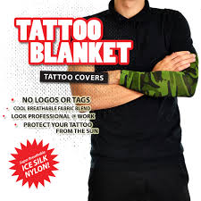 camouflage military sleeve 1pk tattooblanket tattoo covers