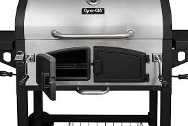 Brinkmann Dual Gas Charcoal Grill by Amazon Com Dyna Glo Dgn576snc D Dual Zone Premium Charcoal Grill