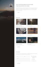 strata free responsive html5 personal template htmltemplates co