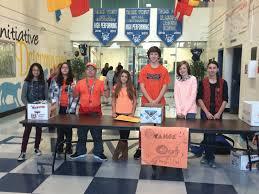 youth thanksgiving games go orange u0027 drive raises food funding awareness cranston herald