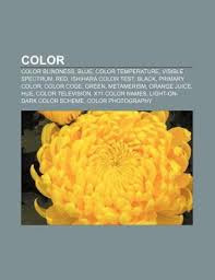 Red Blue Color Blindness Color Color Blindness Blue Color Temperature Visible Spectrum