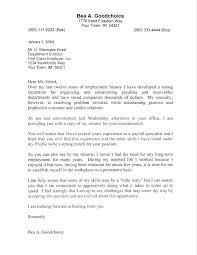 cover letter for resume sample u2013 inssite