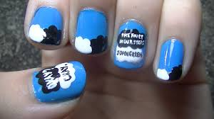 tutorial nail art one direction appealing the fault in our stars nail art for one direction popular