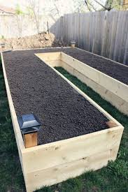 How To Build A Raised Flower Bed Learn How To Build A U Shaped Raised Garden Bed Gardening