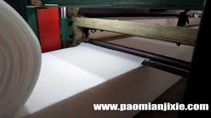 Latex Upholstery Foam Continuous Foaming Machine For Flexible Polyurethane Foam For