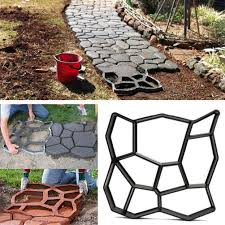 Concrete Garden Furniture Molds by Stepping Stone Mold Concrete Pathmate Paving Pathway Outdoor