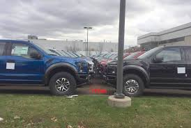 Ford Raptor Top Speed - caged 2017 ford raptors ready to roll in dearborn updated info