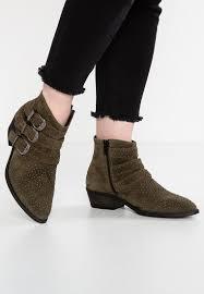 cheap leather biker boots pavement online store pavement neel cowboy biker boots green