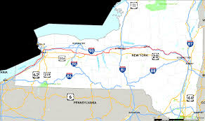 Interstate 78 In New Jersey Wikipedia New York State Route 5 Wikipedia Picturesque Map Of Upstate