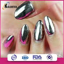 mirror nail gel polish pigment silver chrome nail powder buy