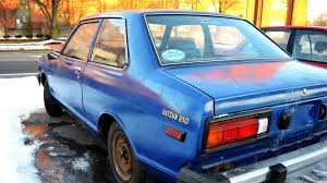 nissan datsun 1980 1980 datsun 210 two door sedan a14 u0026 rivergate 5 speed youtube