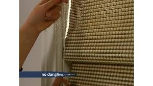 levolor natural woven wood shades with continuous cord loop option