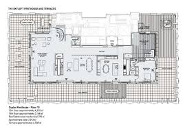 celebrity floor plans the ultimate manhattan penthouse in tribeca idesignarch