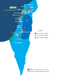sheva israel map map of israel s fires