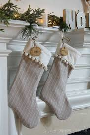 35 beautiful christmas stockings worth hanging pom pom trim