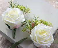 White Rose Wrist Corsage Cheap White Wrist Corsages Free Shipping White Wrist Corsages