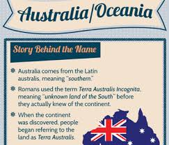 australia and oceania facts facts about australia and oceania