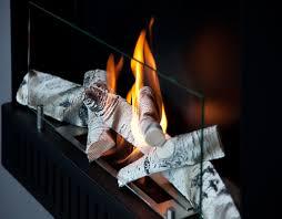 buche de cheminee bûches en céramique pour bio cheminées lovter