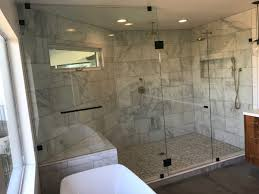Frameless Shower Doors San Diego by Very Large Frameless Glass Shower Enclosure Patriot Glass And