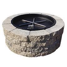 Firepit Inserts Scapestone Pit Kit Concrete Patio Pavers Boston Ma