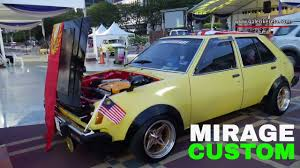 mitsubishi old models mitsubishi colt mirage old car modified autoshow