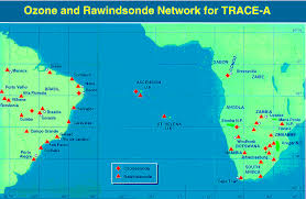 ascension islands map ascension island map