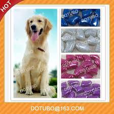 2017 cores brilhantes tampas de unhas de cães cão grooming prego