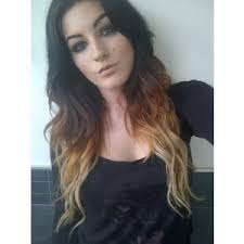hair styles brown on botton and blond on top pictures of it love but i think that bottom blonde is extensions ombre hair