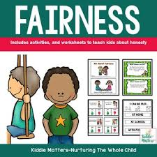 fairness character education and social skills activities by