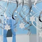 winter wonderland u0026 snowflake party supplies