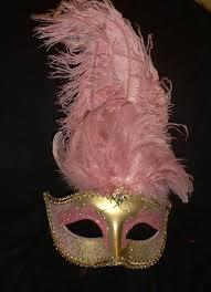 pink masquerade masks gold pink jeweled mardi gras party masquerade mask