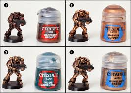 tutorial how to paint minotaurs space marines tale of painters