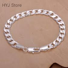 bracelet women silver images Women silver bracelets silver chain bracelet silver plated jpg