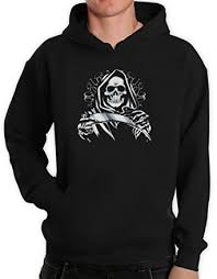 grim reaper hoodie amazon co uk clothing