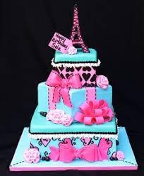 girls pink poodle in paris cake toppers pink poodles paris