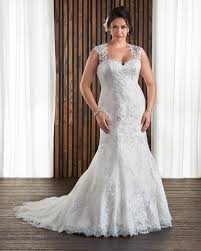 plus size fit and flare wedding dress 1712 all about