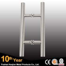 stainless steel double sided glass pull shower door handle buy