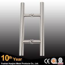 glass door pull handle stainless steel double sided glass pull shower door handle buy