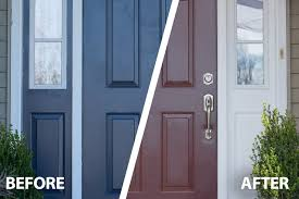how to paint a front door snapdry door u0026 trim paint